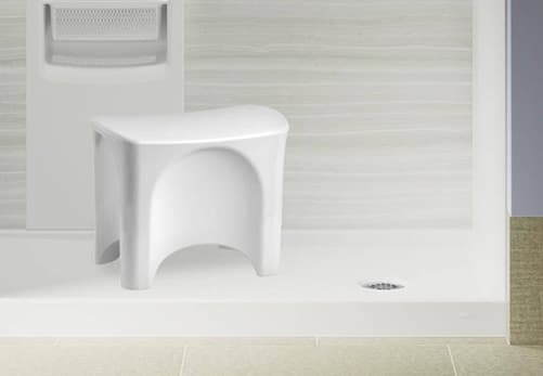 Clean LuxStone Moveable Seat