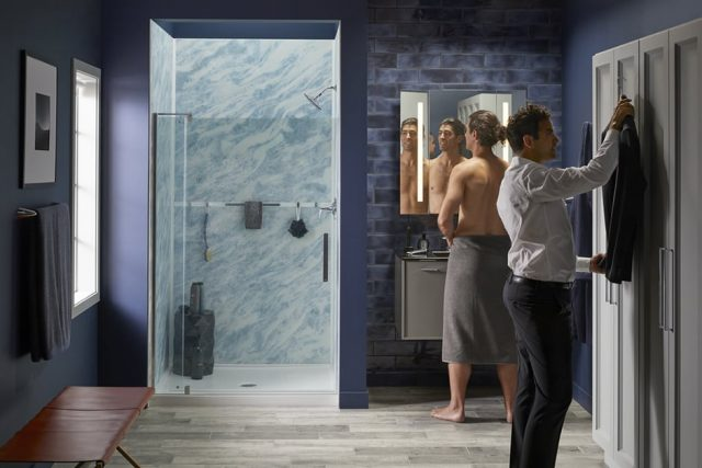 bluette shower by kohler luxstone