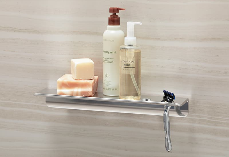 Floating shelf by Kohler LuxStone