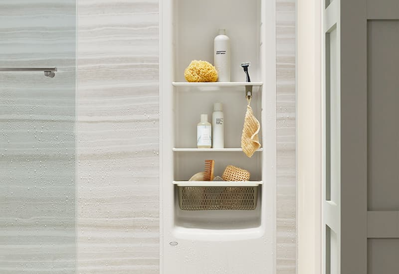 LuxStone shower locker