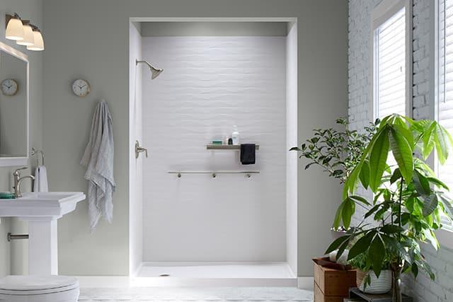 Urban organic bathroom