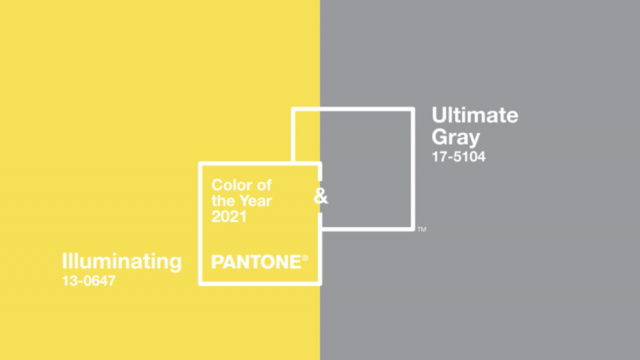 Pantone Color of the Year 2021: Illuminating and Ultimate Gray