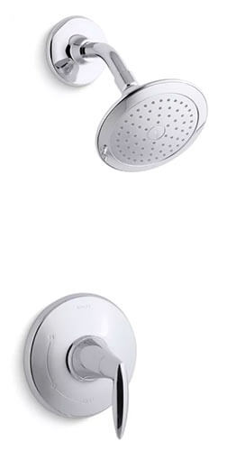 Modern Shower Head | KOHLER® LuxStone Shower