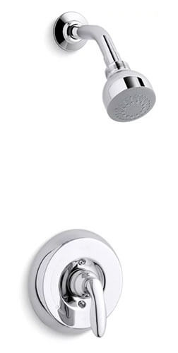 Polished Chrome Showerhead | KOHLER® LuxStone Shower