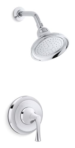 Traditional Showerhead | KOHLER® LuxStone Shower