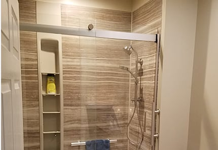 Pat and Ronnie's Dual Bathroom Redesign