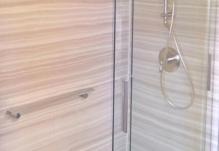 Ted & Diane's Modern-Chic Shower Transformation
