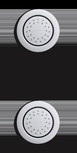 Bodysprays | KOHLER® LuxStone Showerheads