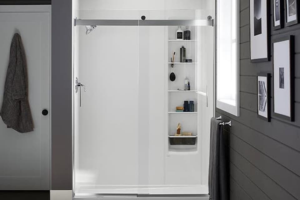 Glass Shower Doors Sliding Doors Pivot Doors Barn Doors Kohler Luxstone Showers