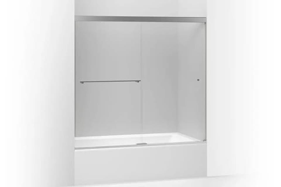 Glass Shower Door | KOHLER® LuxStone Shower