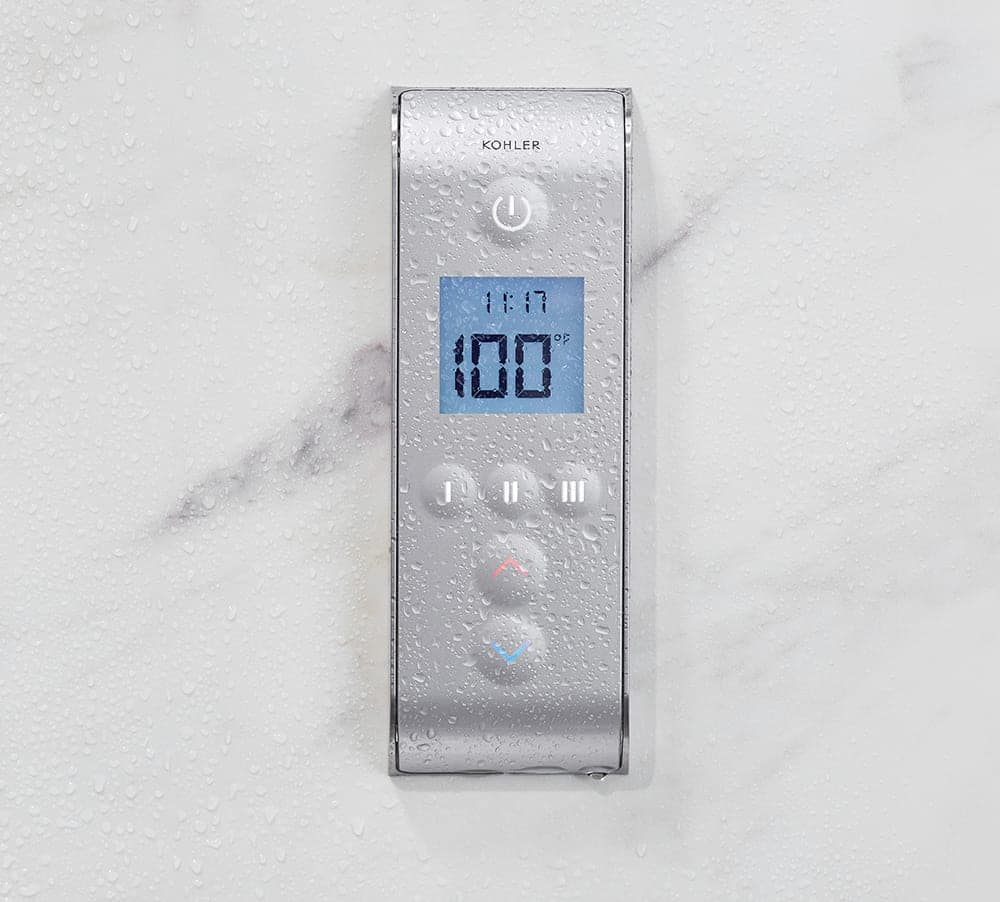 DTV Prompt | Digital Showering | KOHLER® LuxStone Shower