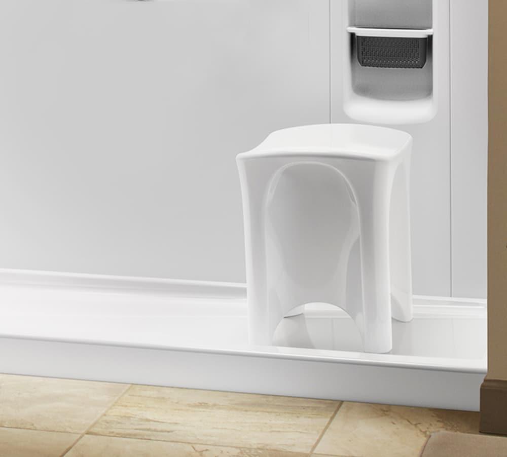 Shower Seat Dimensions | KOHLER® LuxStone Shower