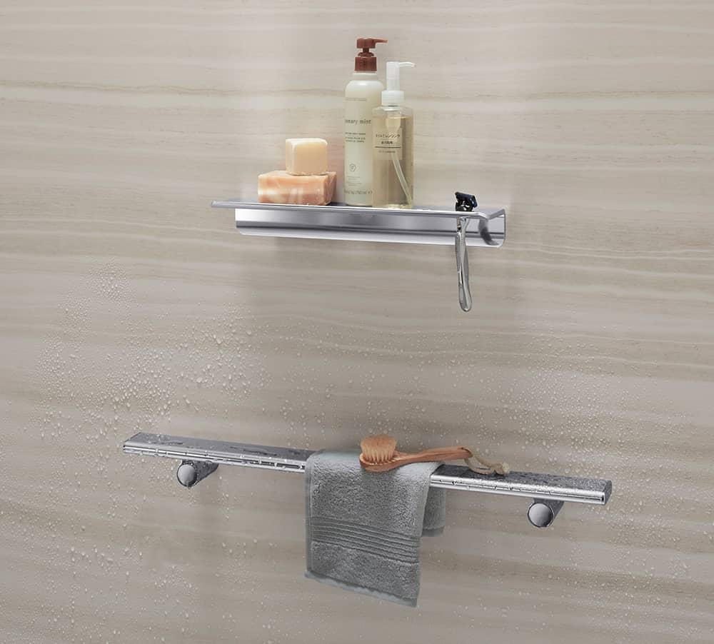 Shower Shelves | KOHLER® LuxStone Shower