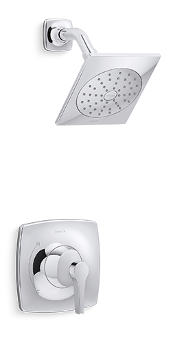 Contemporary Showerhead | KOHLER® LuxStone Shower
