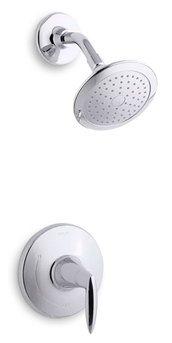 Alteo Showerhead and Handle | KOHLER® LuxStone Showerheads