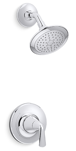 Modern Showerhead | KOHLER® LuxStone Shower