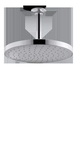 Rainhead Showerhead | KOHLER® LuxStone Showerheads