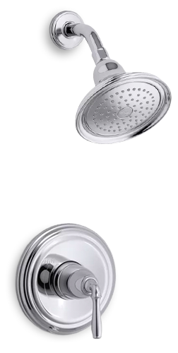 Devonshire Shower Head | KOHLER® LuxStone Showerhead