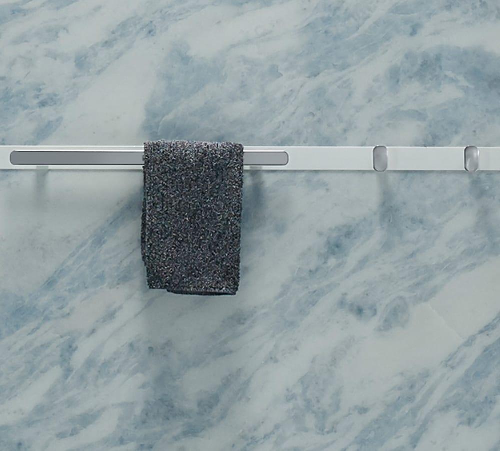 Towel Bar | Shower Storage | KOHLER® LuxStone Shower