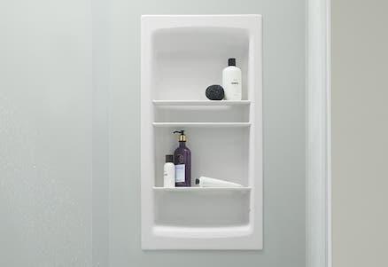 Shower Niche | KOHLER® LuxStone Shower Niche