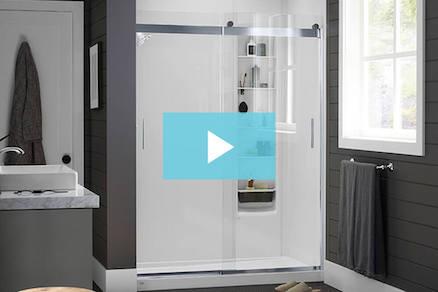Shower Remodel | KOHLER® LuxStone Shower