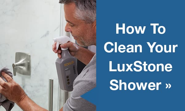 How to Clean Your LuxStone Shower Blog