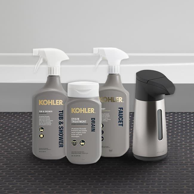 KOHLER Cleaners Package