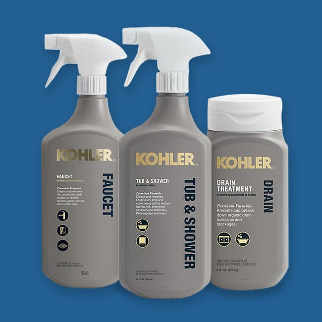 KOHLER Cleaners Package