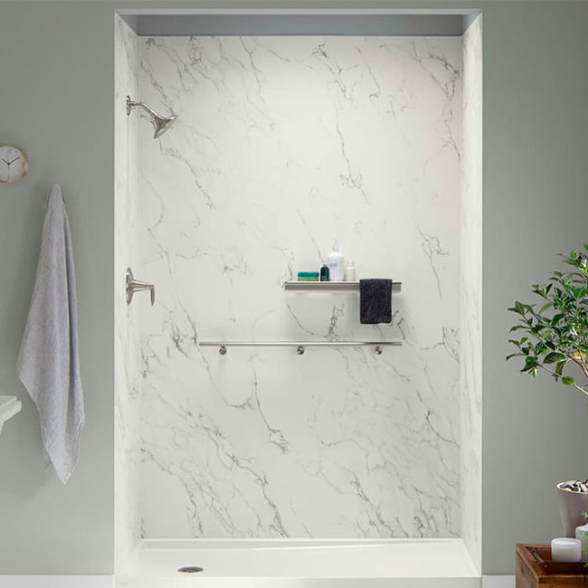KOHLER LuxStone Shower Walls