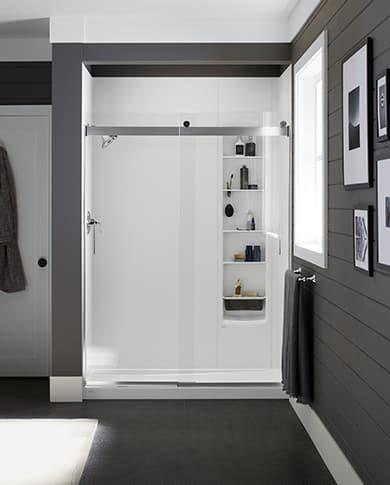 Modern Farmhouse shower design
