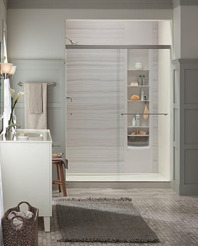 Simple Traditional shower design