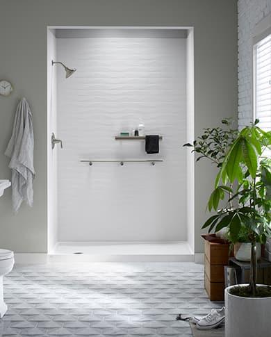 Urban Organic shower design